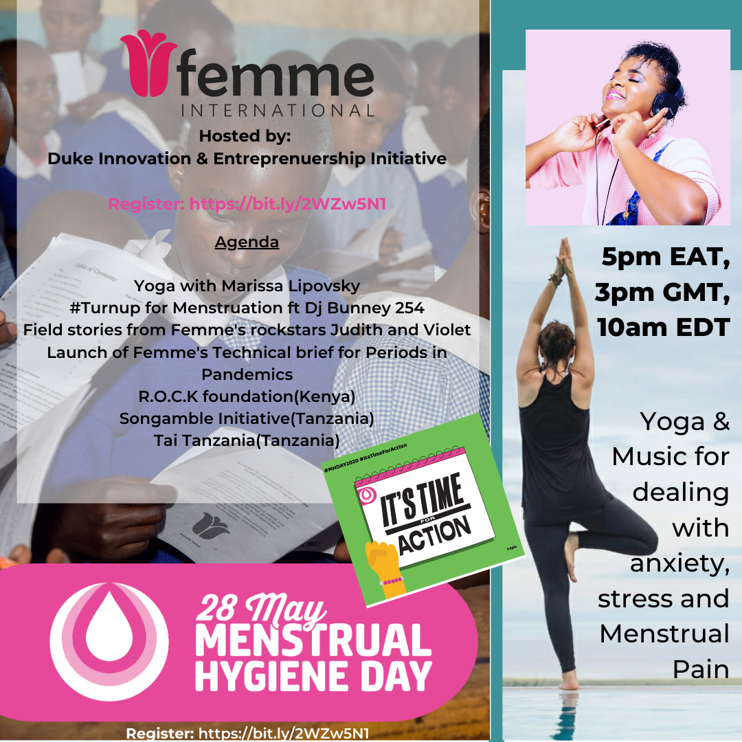 Femme International Menstrual Hygiene Day Webinar