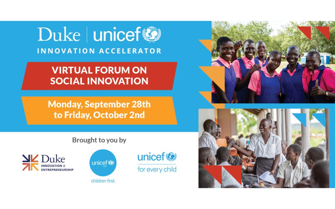 Virtual Forum on Social Innovation